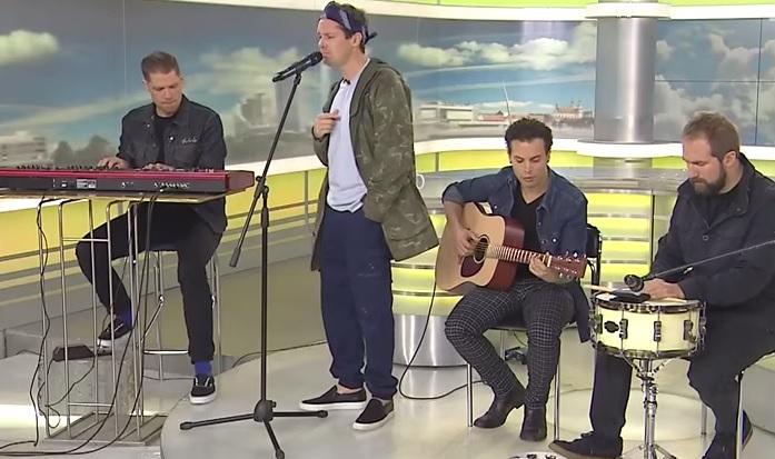 GYVAI: Rhye pasirodymas LRT televizijos laidoje Labas rytas
