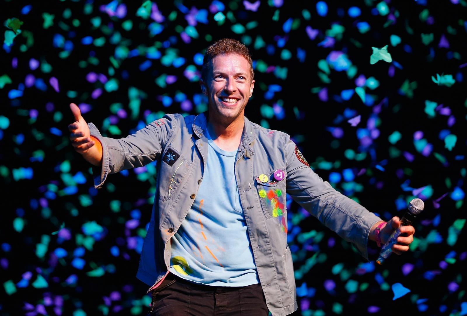 Grupės Coldplay lyderis kuria muziką kino filmui