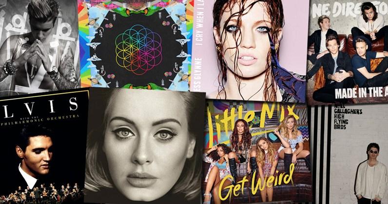 Paskelbti perkamiausi 2015 metų Didžiosios Britanijos albumai