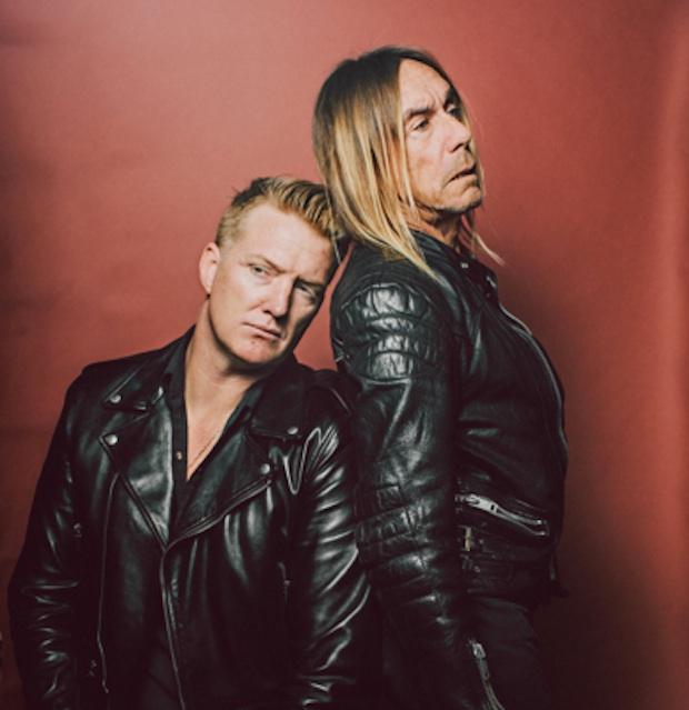 """Naują albumą išleis roko legenda Iggy Pop ir """"Queens of The Stone Age"""" lyderis Josh Homme"""