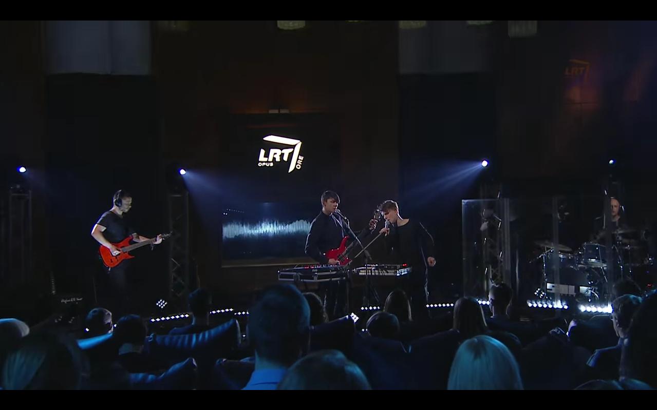 """LRT Opus Ore dalinasi valandos trukmės grupės """"Solo Ansamblis"""" pasirodymu"""