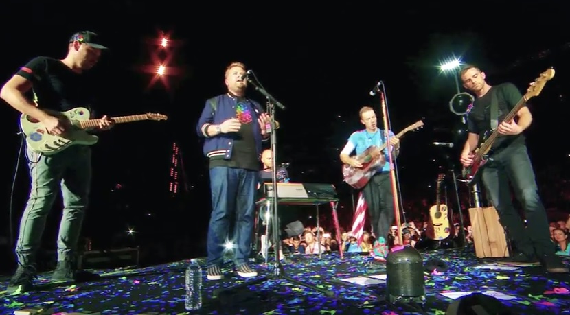 GYVAI: Coldplay feat. James  Corden – Nothing Compares 2 U