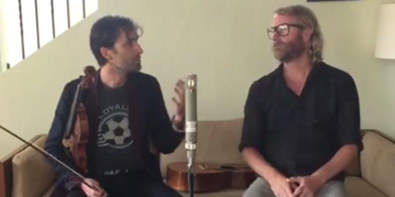 The National siela Matt Berninger apsilankė Andrew Bird akustiniame projekte