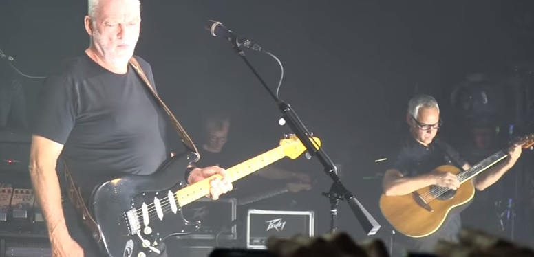 GYVAI: David Gilmour feat. Benedict Cumberbatch – Comfortably Numb