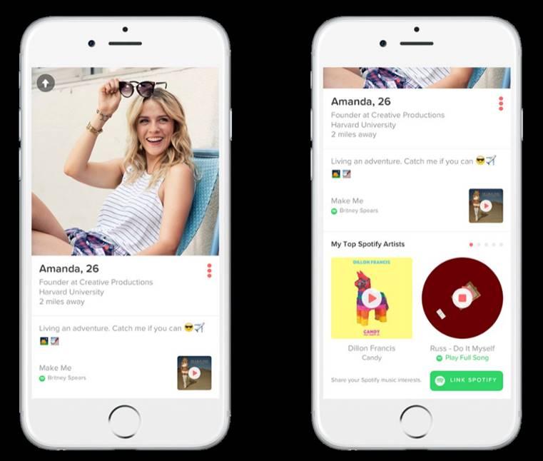 Spotify ir Tinder padės rasti porą pagal muzikinį skonį