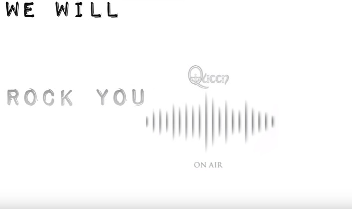 Queen – We Will Rock You (Fast Version)