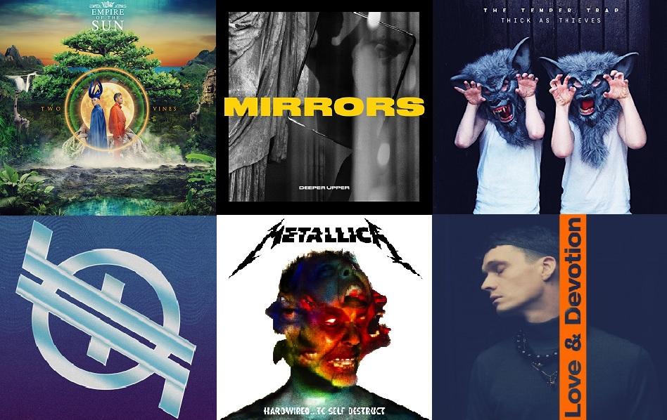 Albumai, kuriuos išgirsti būtina: Lapkritis, 2016