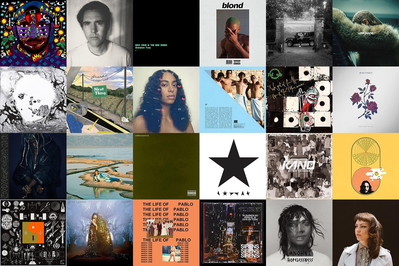 manoMUZIKA.lt: geriausių 2016 metų albumų TOP 15