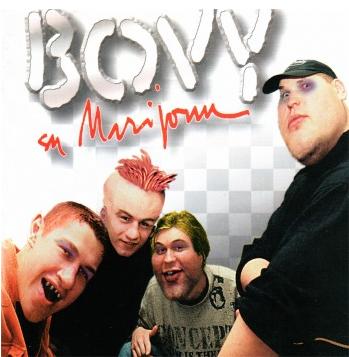 """Albumo """"Bovy su Marijonu"""" viršelis"""