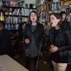 Tiny Desk Concert with Tegan and Sara. (Raquel Zaldivar/NPR.)