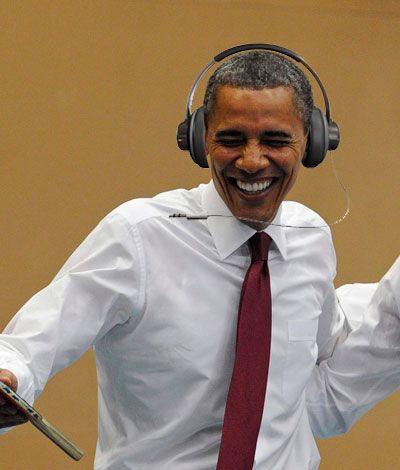 Spotify JAV Prezidentui B. Obamai siūlo darbą