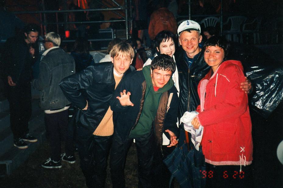 L+ 1998_su Rolandu Kazlu
