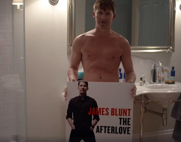 James Blunt tesės savo pažadą
