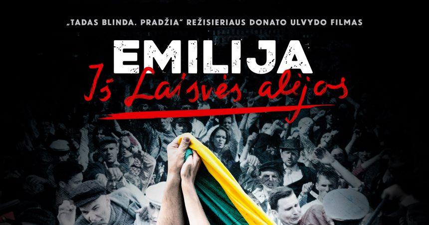 Pristatyta pagrindinė kino filmo Emilija iš Laisvės alėjos daina