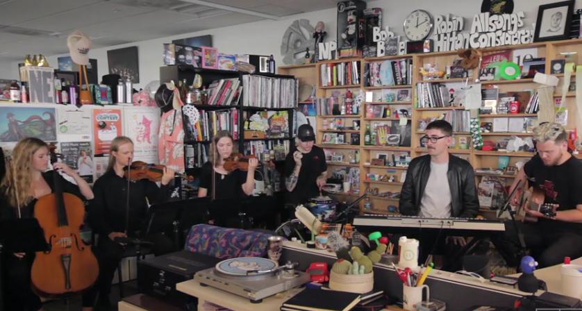 17 minučių su alt-j: gyvai NPR studijoje