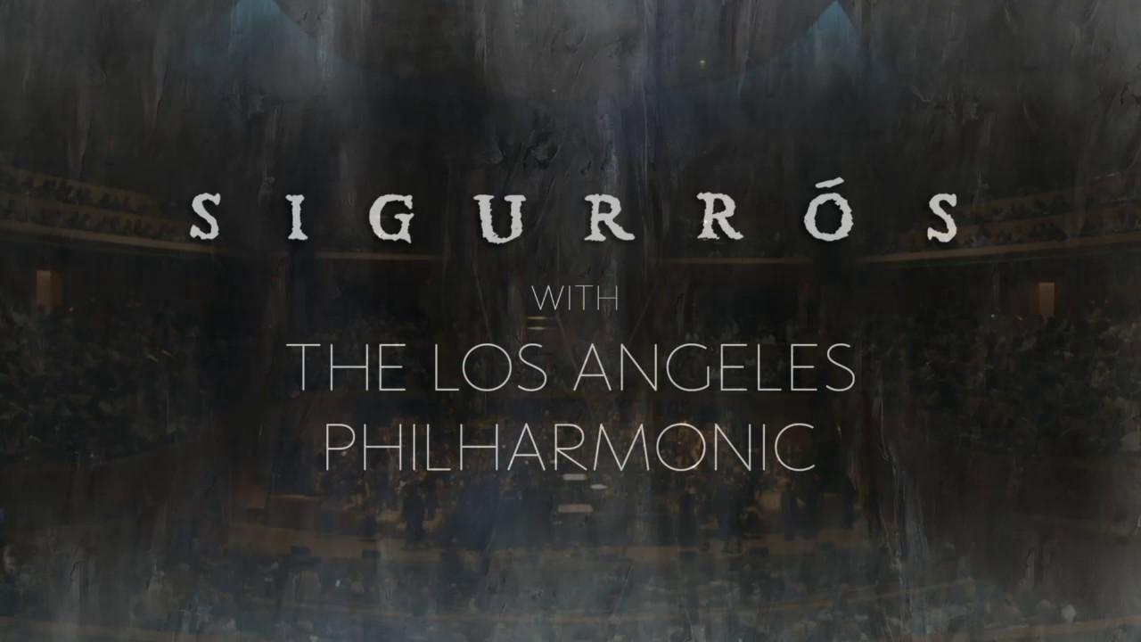 Dvi valandos su Sigur Rós ir Los Andželo filharmonijos orkestro muzika