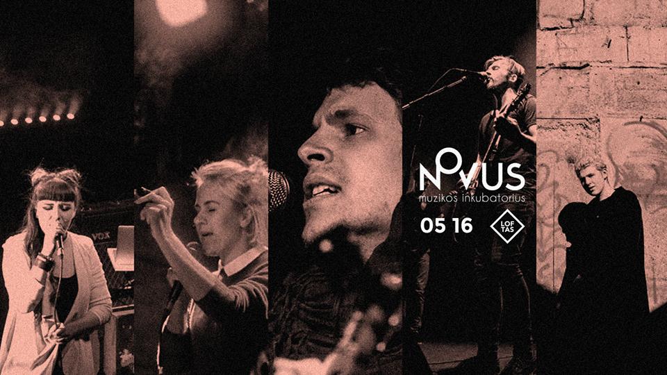Tarptautiniame grupių konkurse Novus – lemiamų muzikinių kovų metas