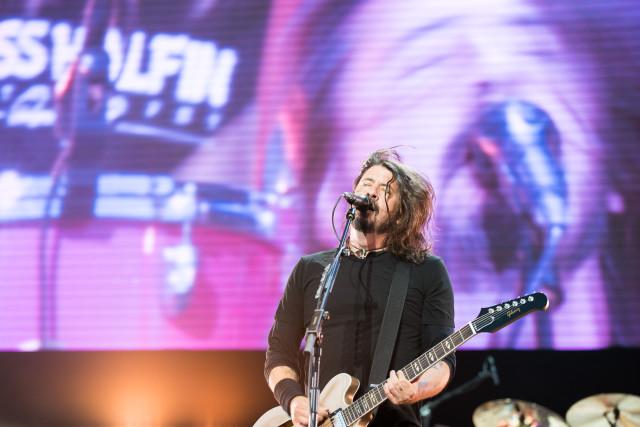 Foo Fighters Rygoje (nuotr. Nendrė Žilinskaitė)