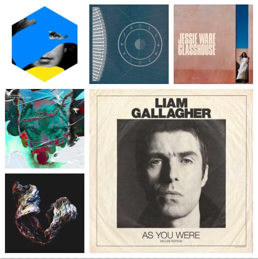Albumai, kuriuos išgirsti būtina: Spalis, 2017