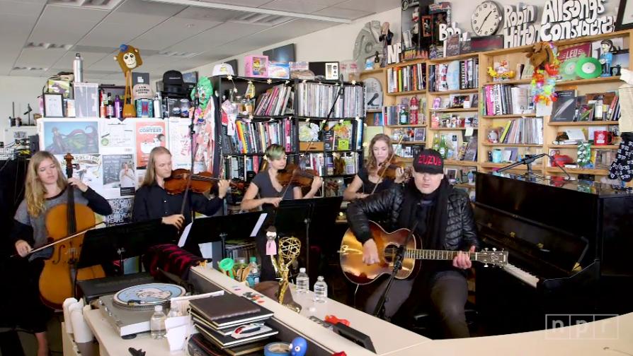 12 minučių su Billy Corgan: gyvai NPR studijoje