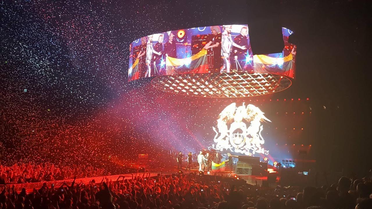Queen + Adam Lambert koncertas Kaune