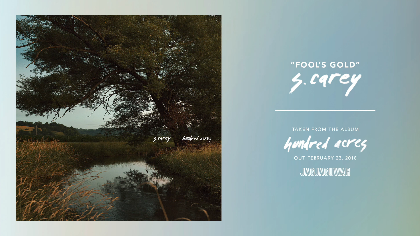 "Vasario 23 d. pasirodys trečiasis S. Carey studijinis albumas ""Hundred Acres"""