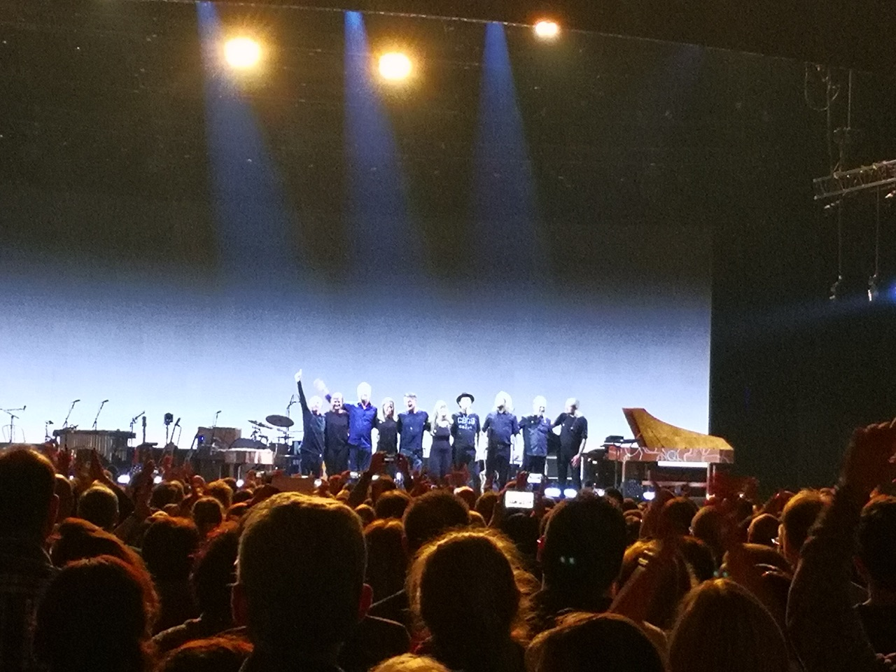 "Akimirka iš ""a-ha"" koncerto Frankfurte (nuotr. Vaidas Stackevičius)"