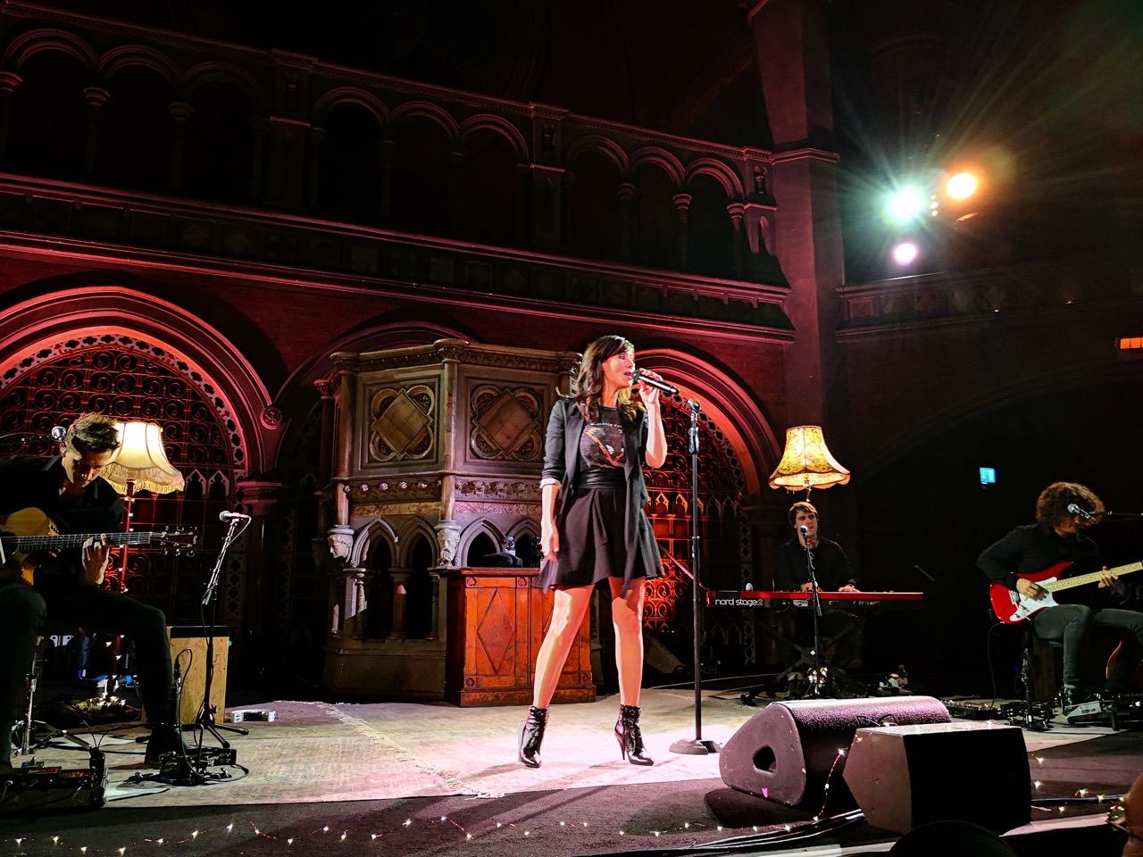 Natalie Imbruglia koncertas Londone (nuotr. Vaidas Stackevičius)