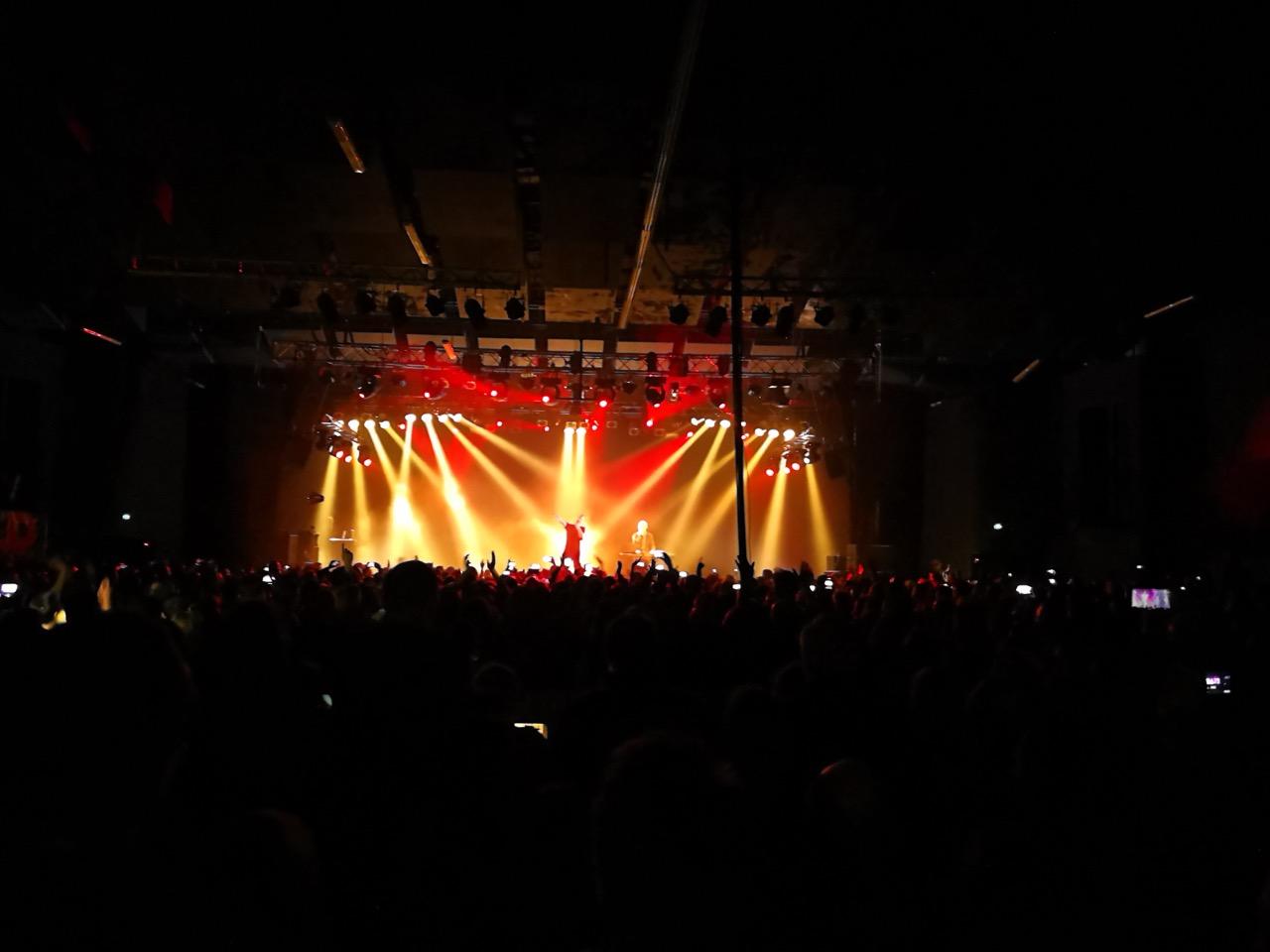 OMD koncerto Varšuvoje akimirka (nuotr. Vaidas Stackevičius)