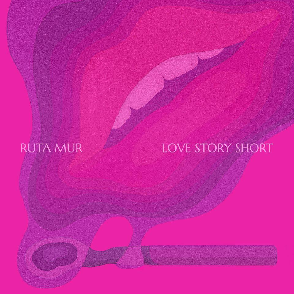"Rūta MUR ""Love Story Short"" albumo viršelis"