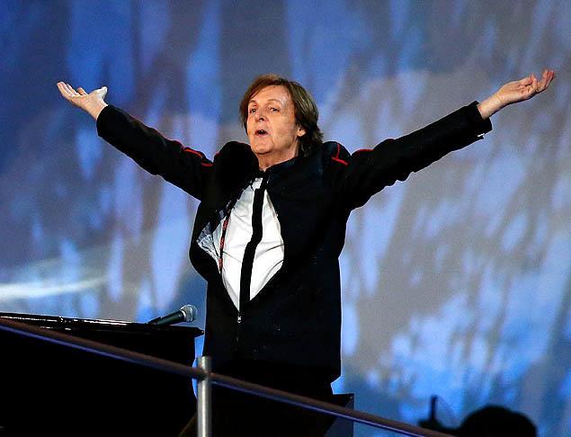 Paul McCartney Londono Olimpynių žaidynių atidaryme