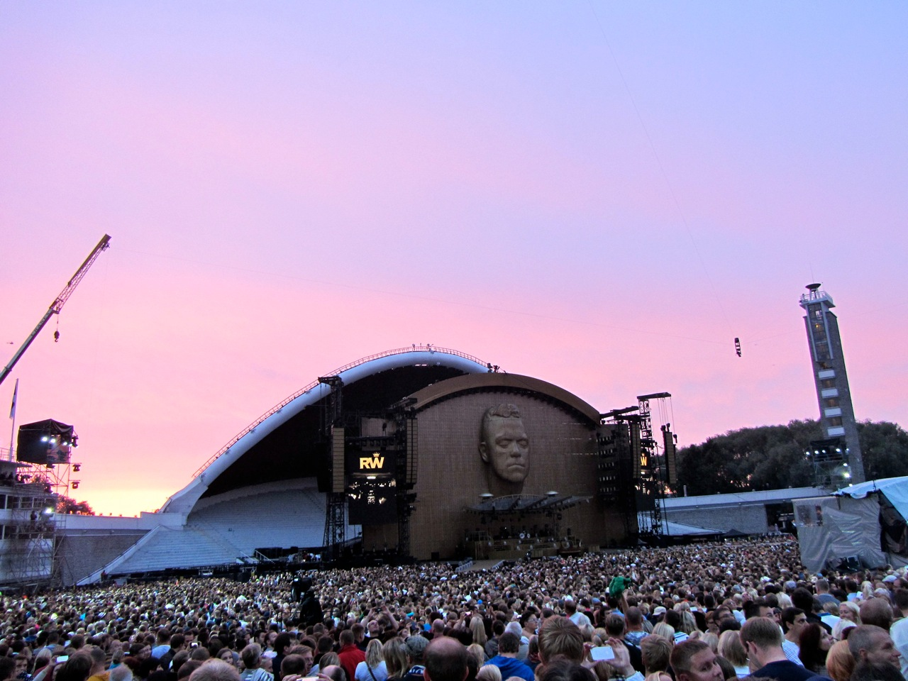 Robbie Williams koncertas Taline