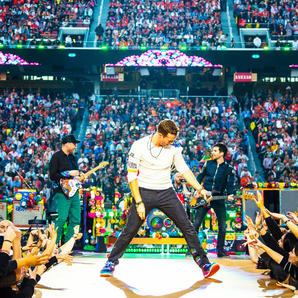 Coldplay apie naują dvigubą albumą pranešė savo gerbėjams išsiųsdami laiškus