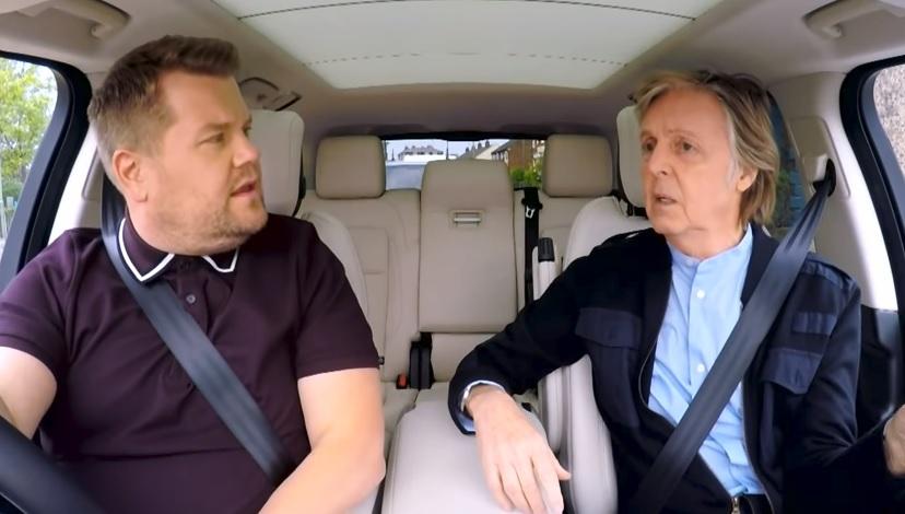 Paul McCartney rubrikoje Carpool Karaoke: muzika, istorija, sentimentai ir koncertas Liverpulio pube