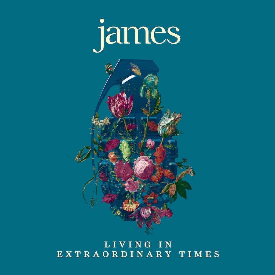 Britų roko grupė James pristato naują albumą