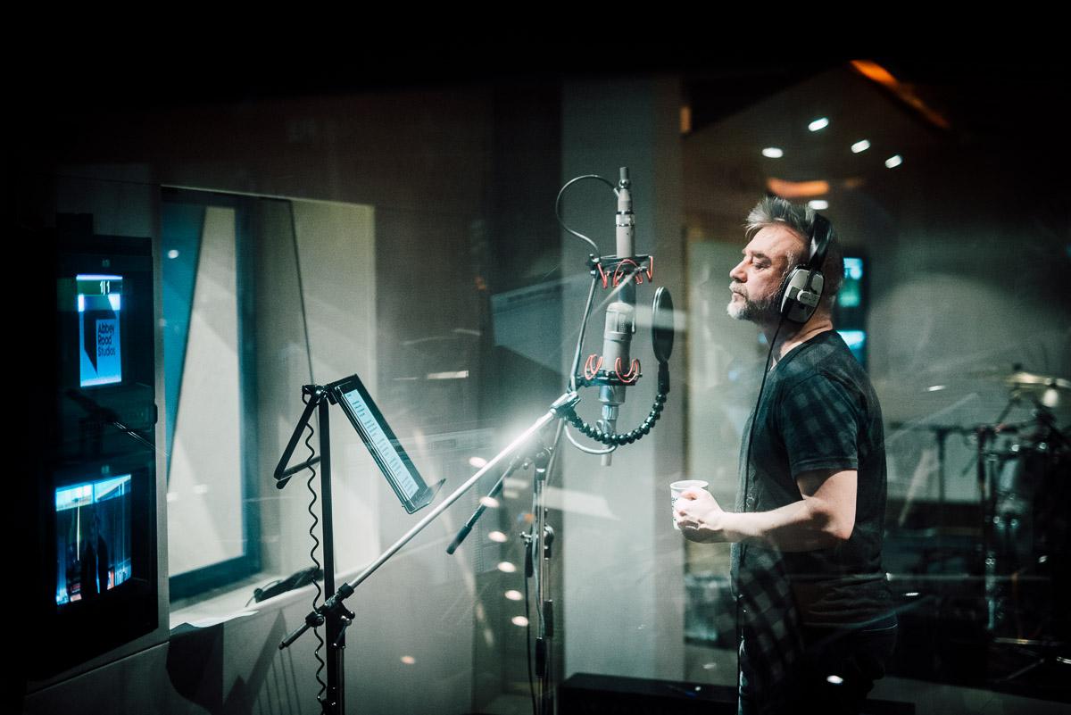 Andrius Mamontovas – jau Abbey Road: pirmosios akimirkos iš žymiausios pasaulio studijos