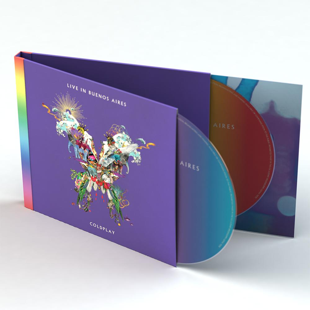 Dienos šviesą išvydo gyvas Coldplay albumas