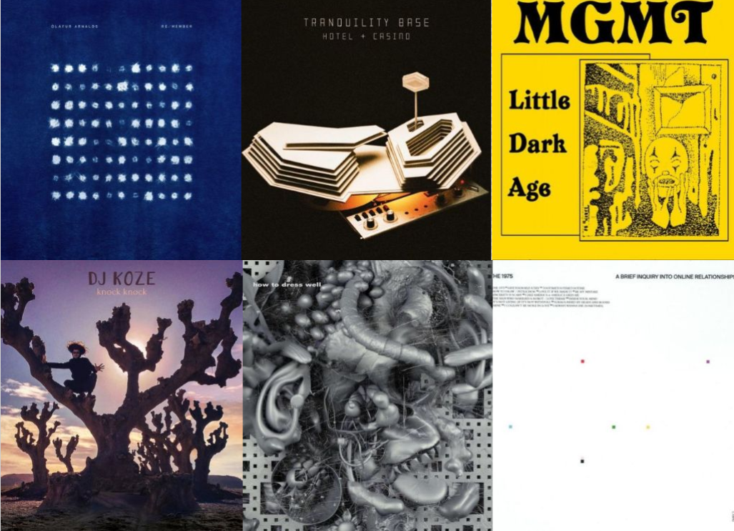 manoMUZIKA.lt: geriausių 2018-ųjų metų albumų top 15