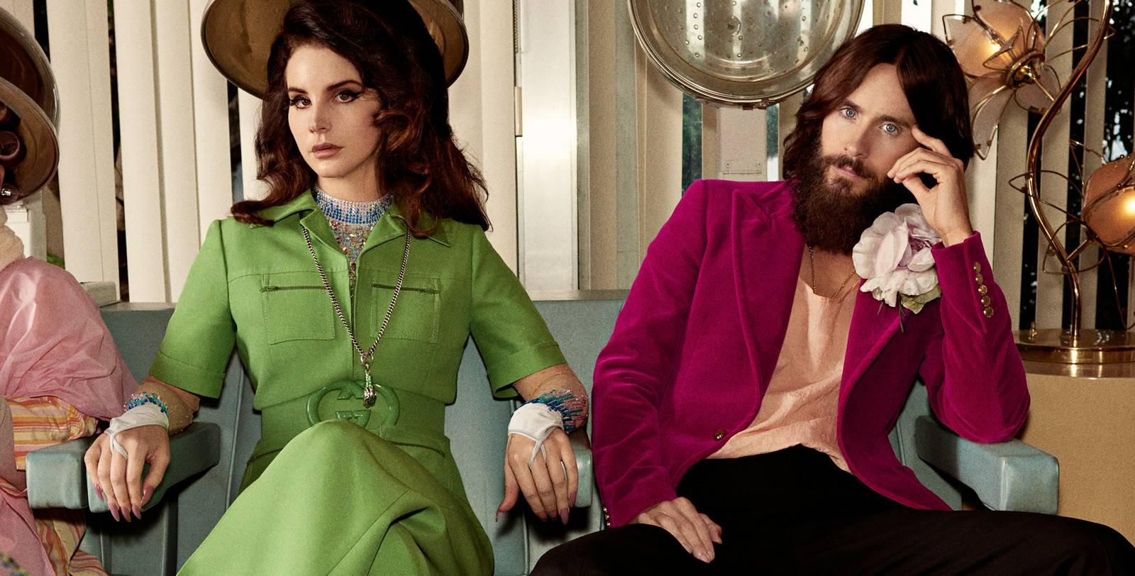 Naujoje Gucci reklamoje – Lana Del Rey ir 30 Seconds To Mars lyderis Jaredas Leto