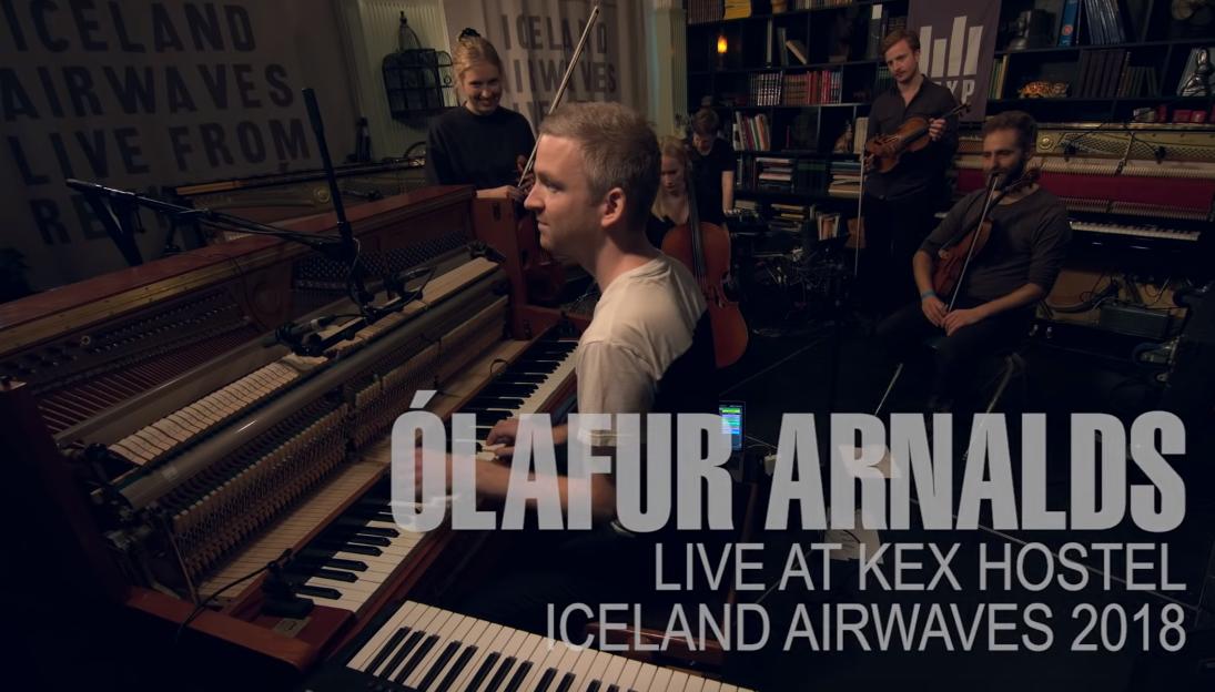 GYVAI: Ólafur Arnalds pasirodymas festivalyje Iceland Airwaves