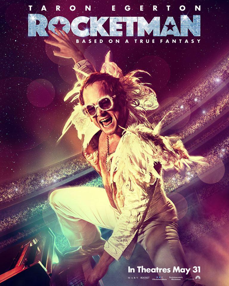 Paskutinę pavasario dieną pasirodys filmas Rocketman – juosta apie Eltono Johno gyvenimą