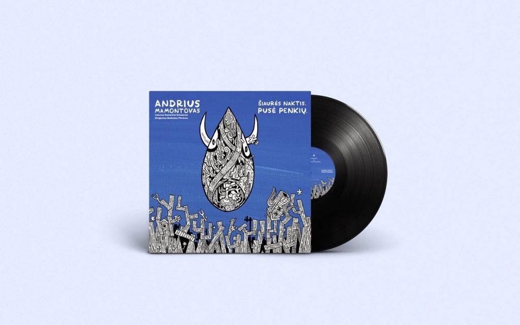 Simfoninis Andriaus Mamontovo albumas Šiaurės naktis.Pusė penkių – jau internete