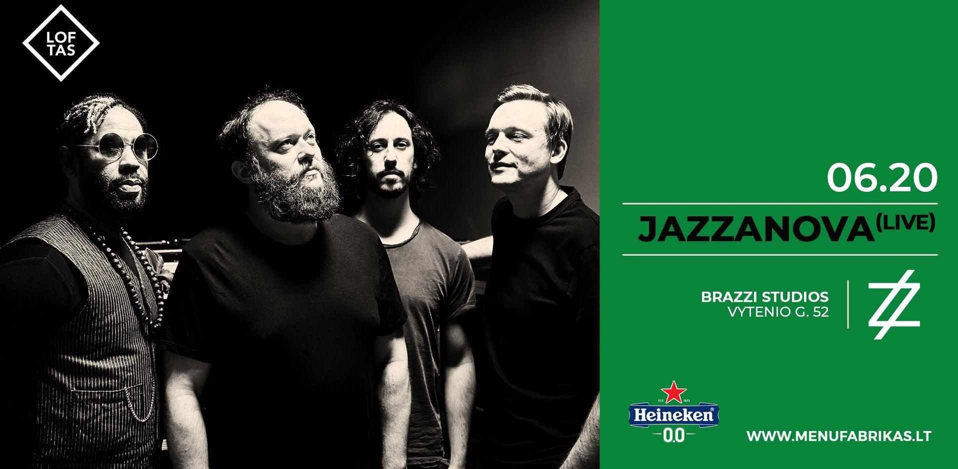 Birželį Vilniuje – Jazzanova koncertas