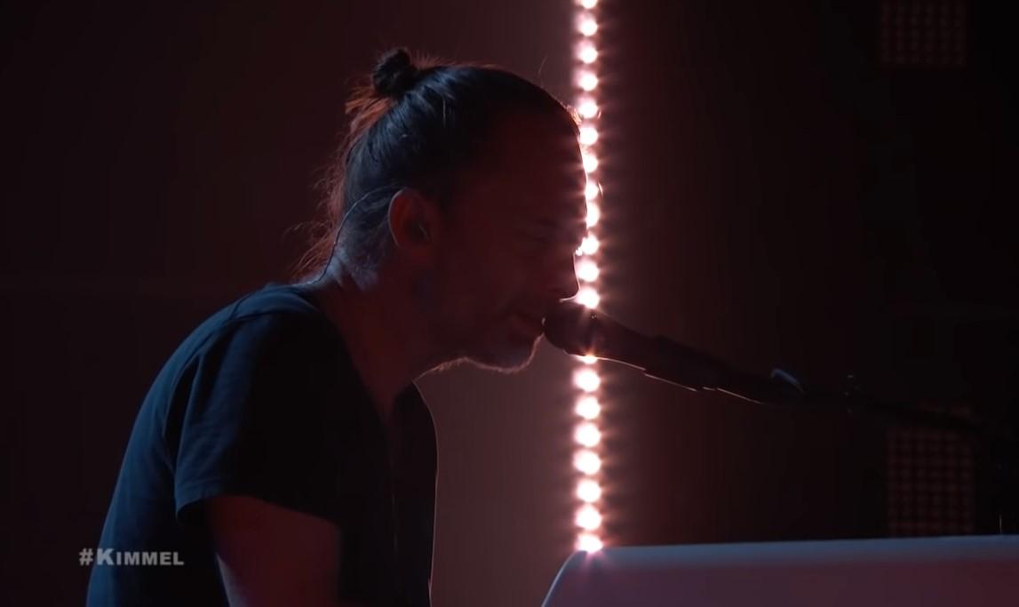 "Thom Yorke pasirodė ""Jimmy Kimmel Show"""