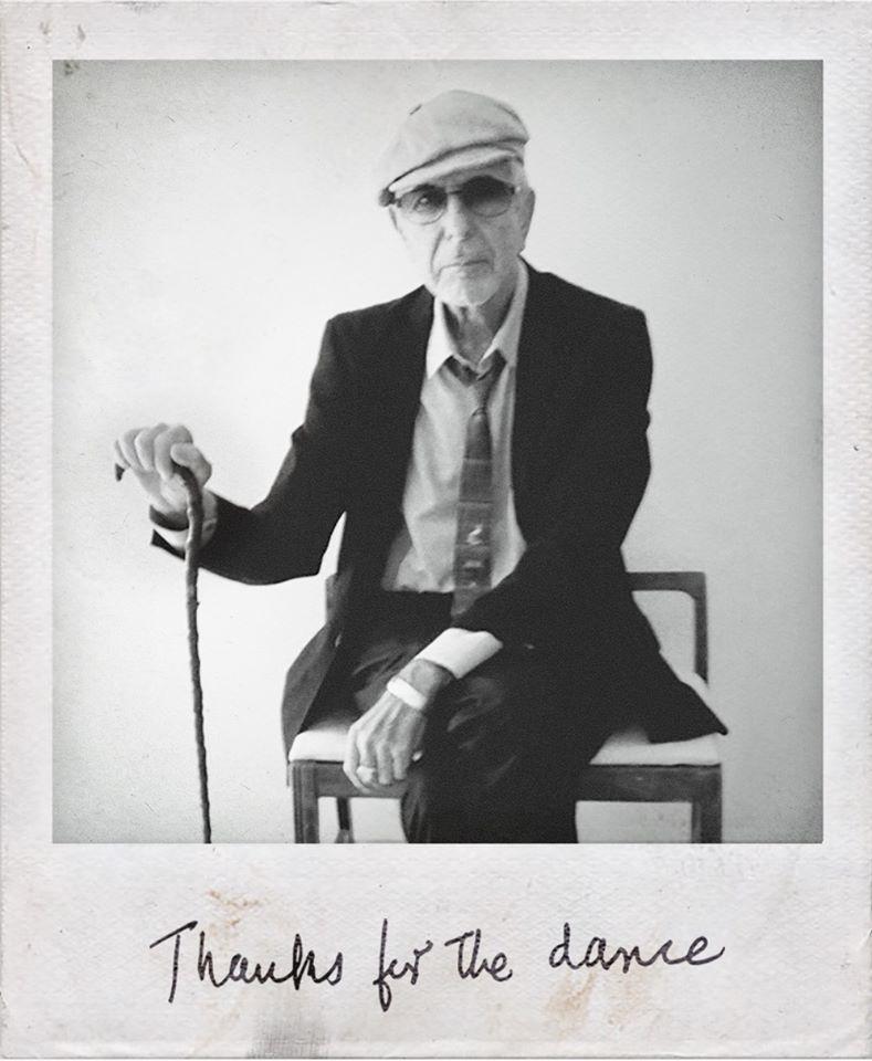 """Anksčiau neišleisti Leonard Cohen kūriniai ir albumas """"Thanks For The Dance"""""""