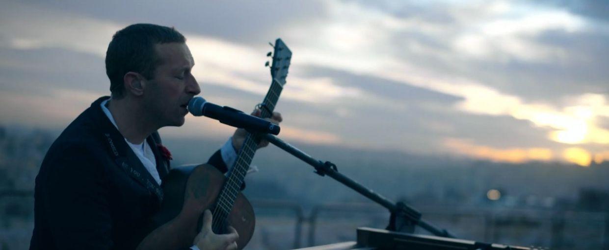 """Coldplay albumo """"Everyday Life"""" dainų pristatymas Jordanijoje"""