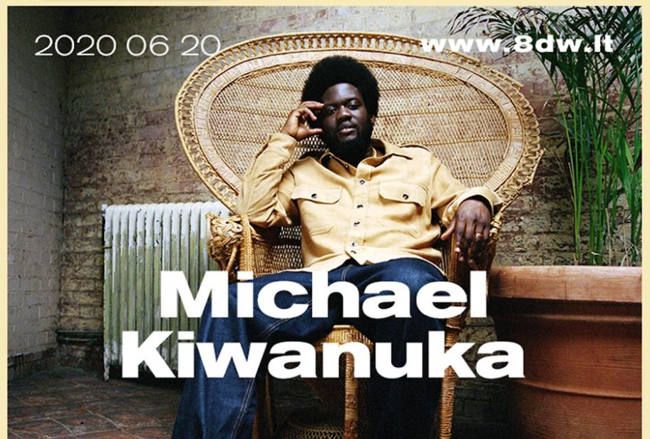 Vasarą Vilniuje – Michael Kiwanuka