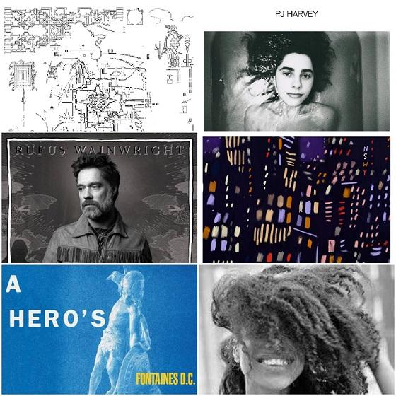 Albumai, kuriuos išgirsti būtina: liepa, 2020