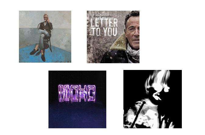 Albumai, kuriuos išgirsti būtina: spalis, 2020
