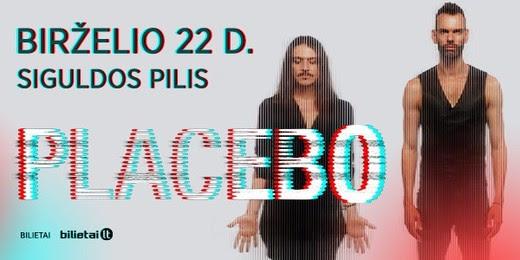 """Latvijoje – grupės """"Placebo"""" koncertas"""
